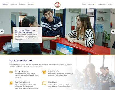 Landing Education & School Web Design Templates