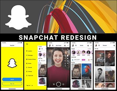 SNAPCHAT MOBILE APPLICATION REDESIGN