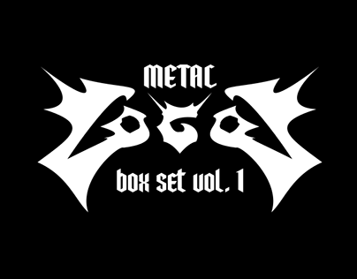 Metal Logos Box Set  - Volume I