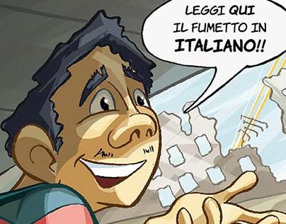 Fumetto School Walk: Italiano