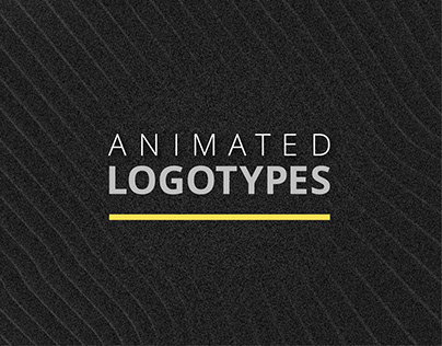 Logotypes with animation