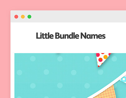 Little Bundle Names