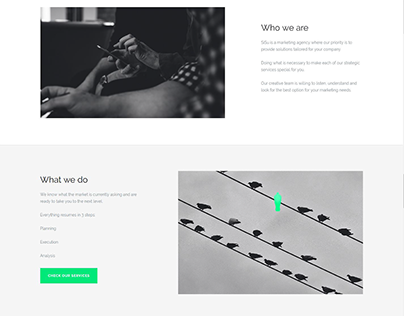 Landing Page Agency