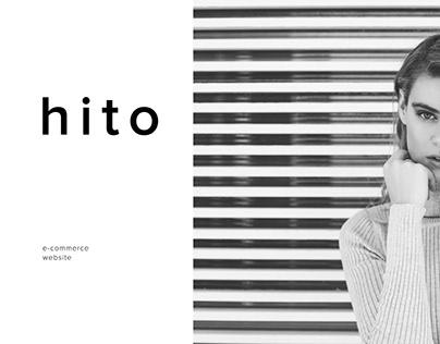 hito — minimalism e-commerce website