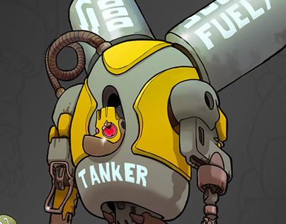 Mech Tanker (12 hours, april 2020)