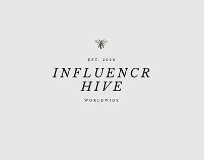 Influencr.Hive – Branding, Logo and Social Media design