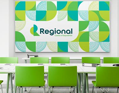Identidade Visual Regional Casas e Esquadrias