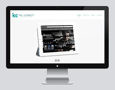 Personal branding and portfolio website