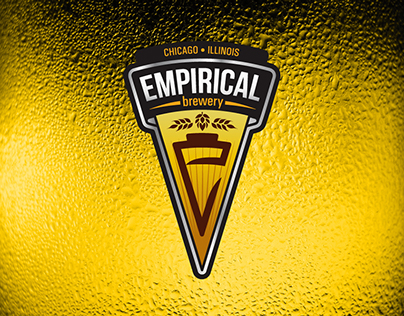 Empirical Brewery, logo and branding design