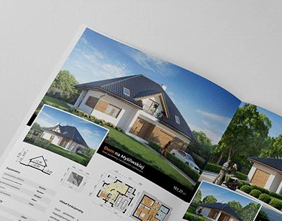 Construction Real estate Brochure Katalog Deweloper