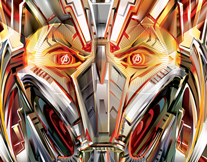 AVENGERS : AGE OF ULTRON- Vector tribute