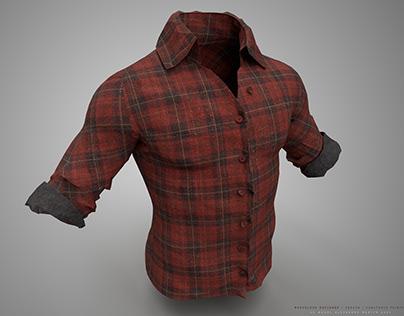 Marvelous designer shirt / Substance Painter 3d /