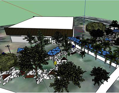 Mobiliário urbano para Campus UNESP Bauru