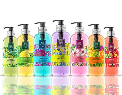EYÜP SABRİ TUNCER • Liquid Soap | Package Design | CGI