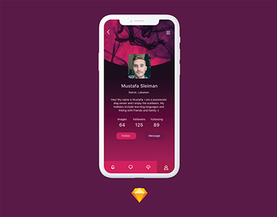 Daily Ui 006- User Profile