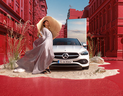 Mercedes C-Class with Clemens Ascher