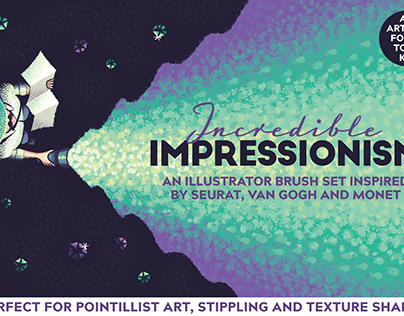 Incredible Impressionism - Illustrator Brushes
