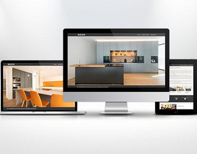 Beer GmbH - Webseite