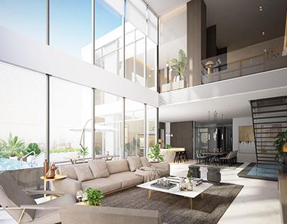 DK1 Penthouse Visualization