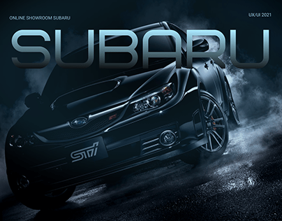 Online shoyroom Subaru