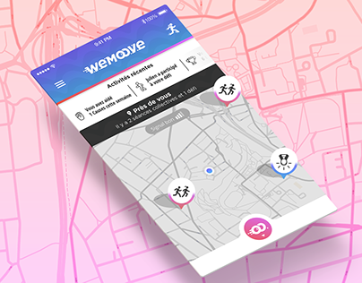 Wemoove - The collaborative running app