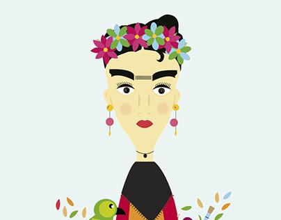 Frida Ilustración
