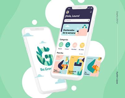Greener App UX/UI Design