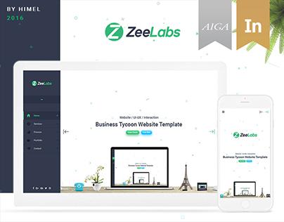 ZeeLabs Website Design