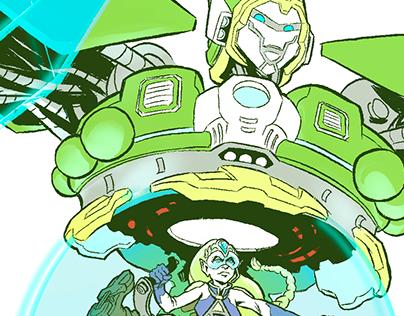 ZELDA & TITAN LINK