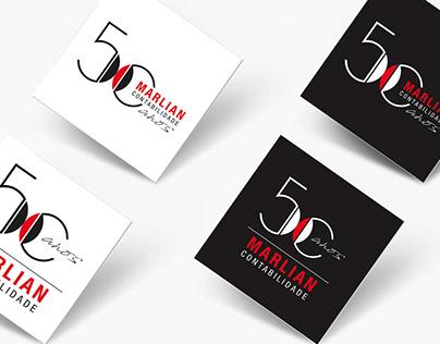 Marlian Contabilidade . Branding 50 anos