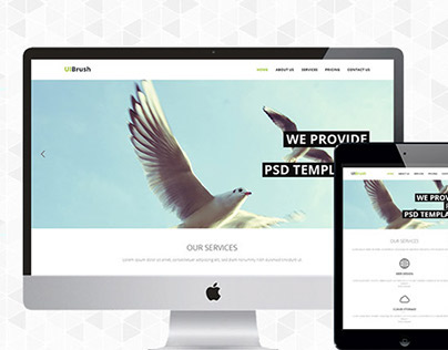 Free Corporate PSD And Responsive HTML Template