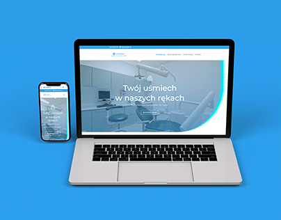 Website on Wordpress dentalker.com.pl