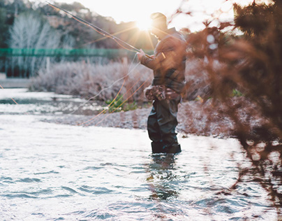 River fisherman | photography