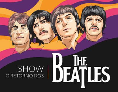Landing Page - Show O Retorno dos Beatles