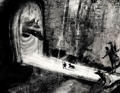 Adventure in Dark worlds game project