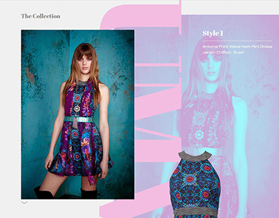 Matthew Williamson a/w 15 website