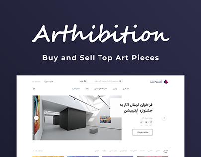 Arthibition Website
