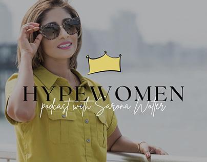 Hypewomen The Podcast Website & Visual Identity