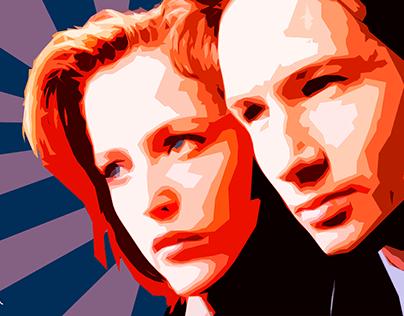 X Files - Tangram Style