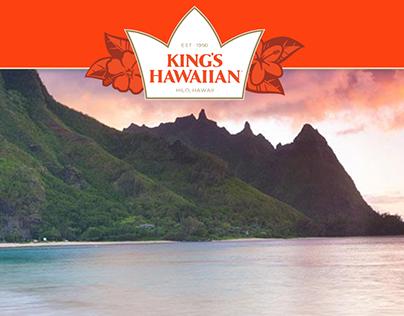 Kings Hawaiian® AI End Cap Concept