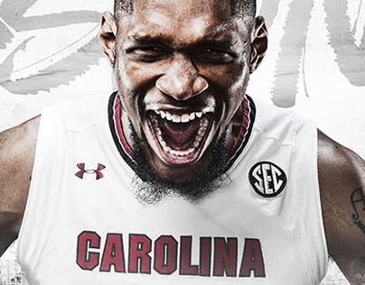 2018-19 Gamecock Men's Basketball poster