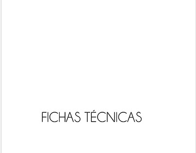 FICHAS TECNICAS : RUBRO LENCERIA