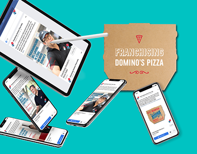 Domino's Pizza   Franchising road show project