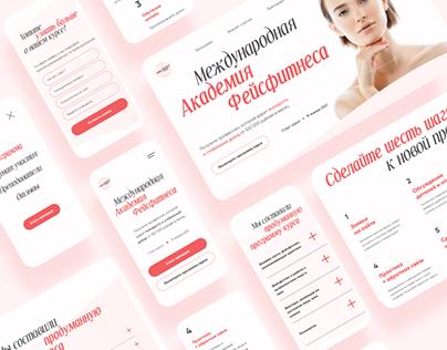 Facefitness Course | Website