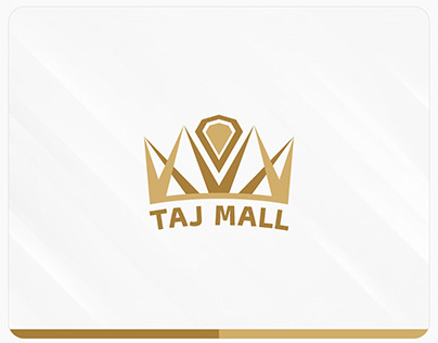 The visual identity of the Taj Mall store - Palestine