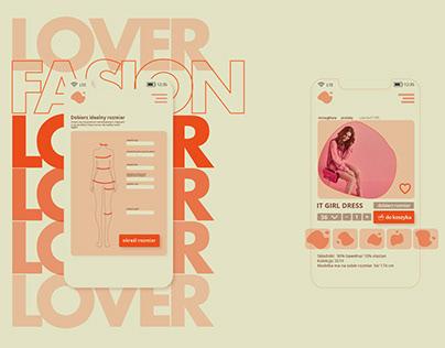 ux design /fashion store