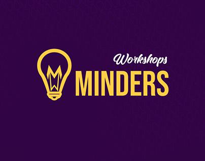 MINDERS Workshops | Logo & Brand identity creation .