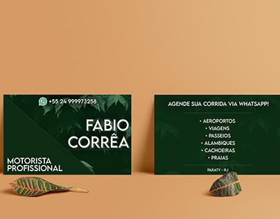 BUSINESS CARD - Fabio Corrêa Paraty