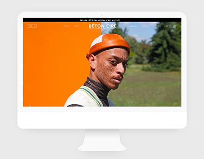 BÉTON CIRÉ Website Redesign