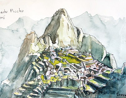 Sketchbook - Peru and Bolivia